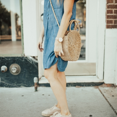 4 Summer Dresses to Wear with Sneakers
