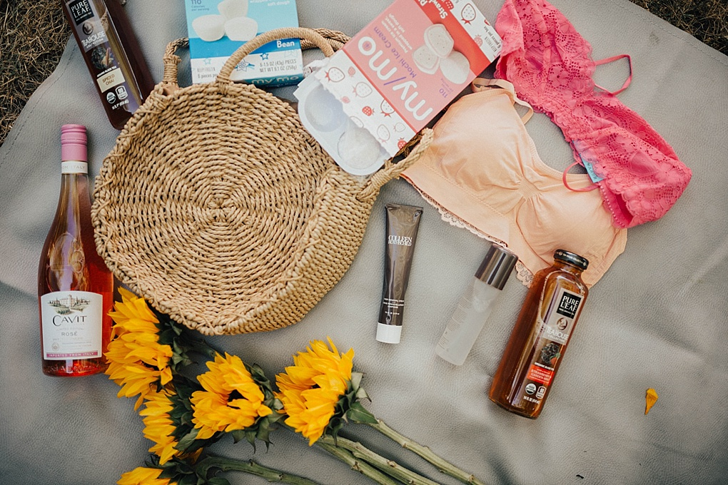 SAVE this post for the perfect summer essentials to keep in your bag whether you are at the pool, a BBQ, or on the go!