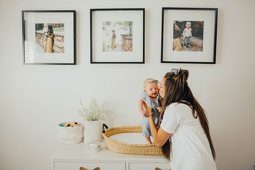 Diaper changes can be a bit frustrating, especially with a newborn! Utah Style blogger Dani Marie is sharing her top tips on making diaper changes easier! Keep reading to see how!