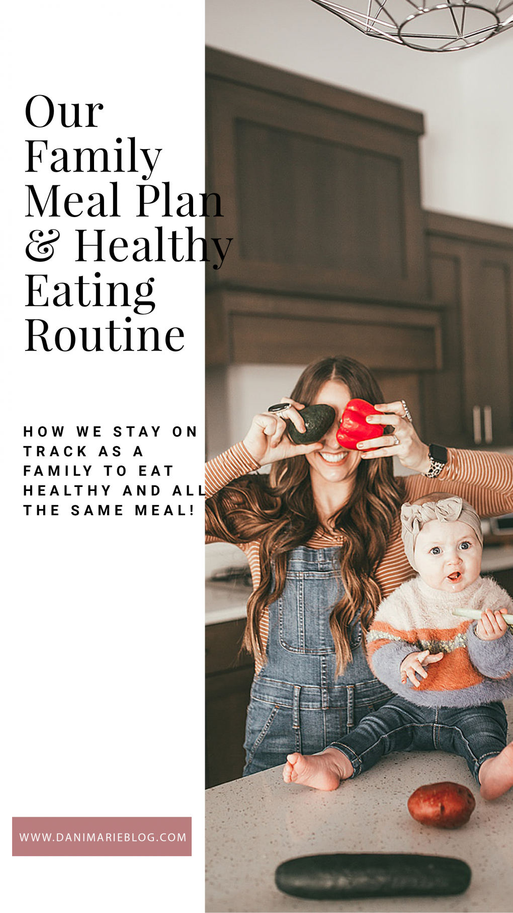 Is eating healthy on the top of your list this year? Utah Style Blogger Dani Marie is sharing her healthy eating plan and how simple it is to follow here!