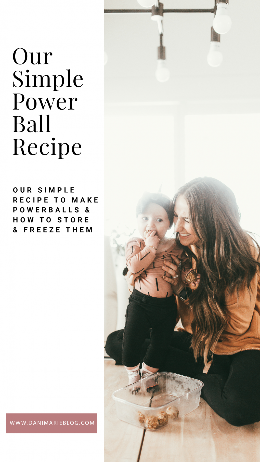 Looking for a healthy yet delicious snack? Utah Style Blogger Dani Marie is sharing her favorite powerballs recipe! Click here to make them now!