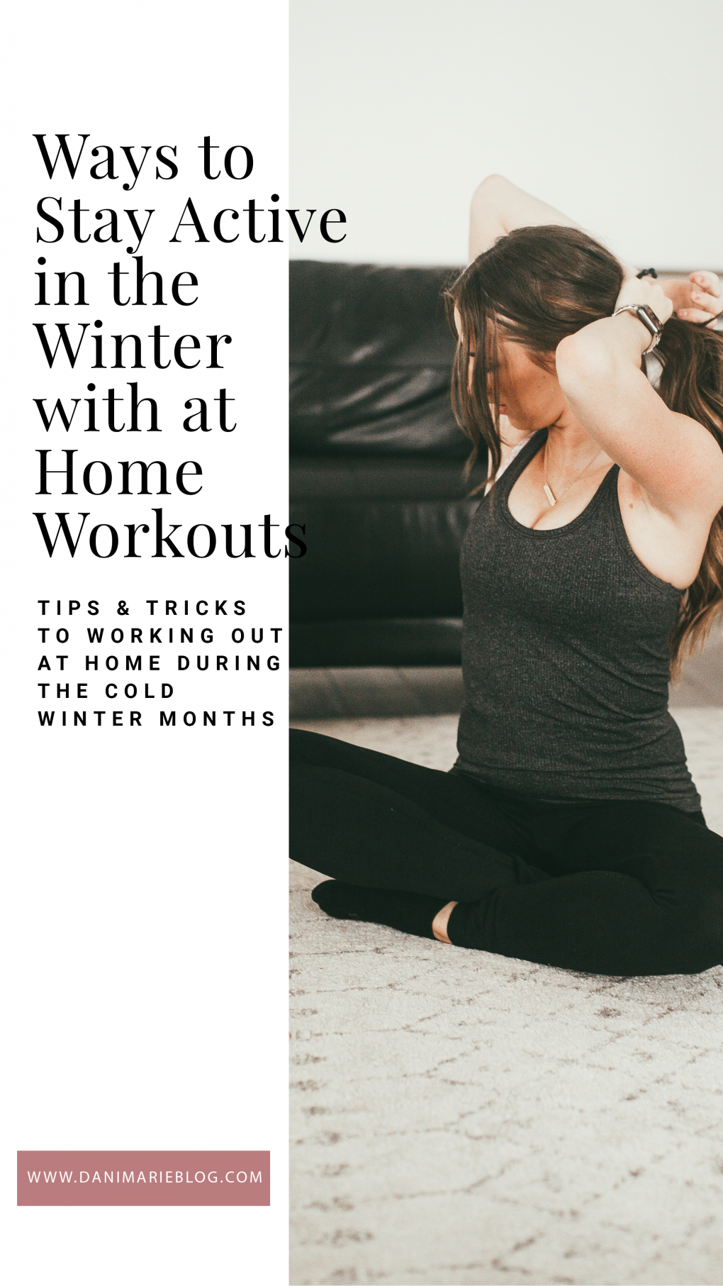 Curious how to stay active through the winter? Utah Style blogger Dani Marie is sharing her top tips to staying active through the winter regardless of the weather. Click to see them HERE!