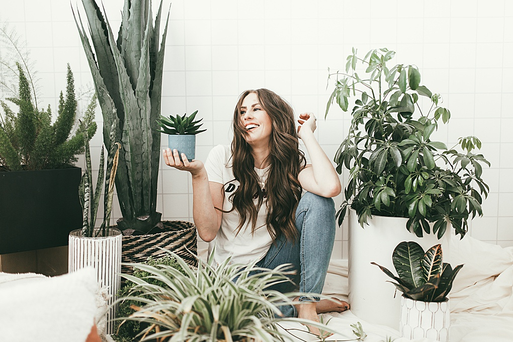 Looking for the best house plants? Utah Style Blogger Dani Marie is sharing her favorite house plants that anyone can have. Click to see them here!