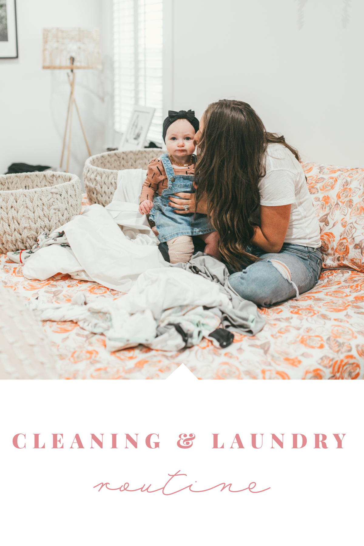 Is there anything worse than laundry? Utah Style Blogger Danni Marie is sharing her cleaning and laundry routine to make life easier. See it here!