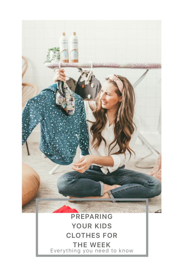 Curious how preparing your kids clothes for the week can help you save time? Utah style blogger Dani Marie is sharing her top tips HERE!