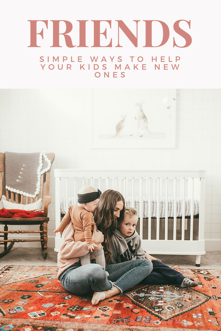 Utah Lifestyle Blogger Shares Simple Ways to Help Your Kids in Making Friends.
